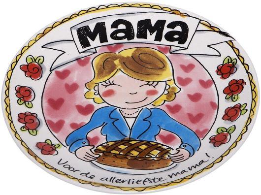 Blond amsterdam mama bord